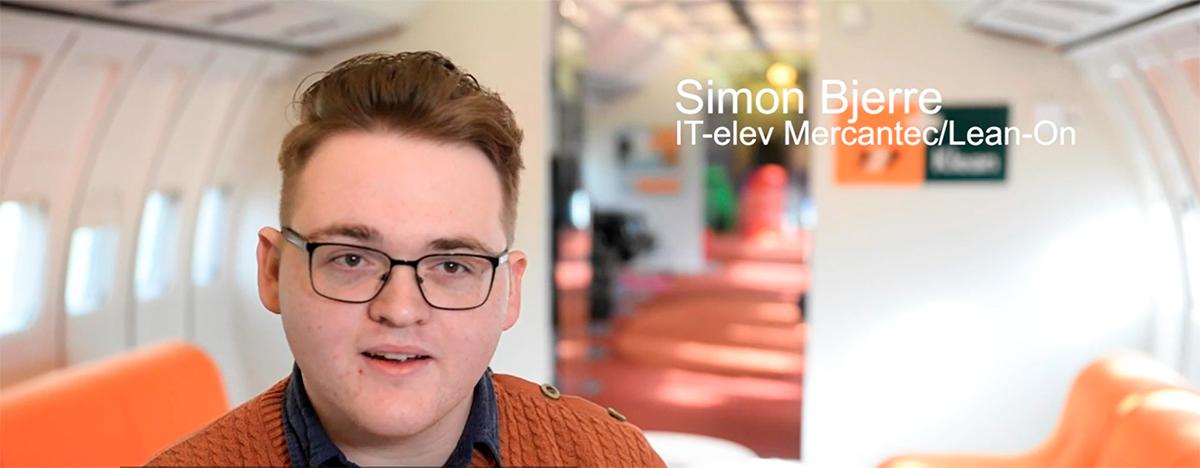Meet Lean-On's Data Trainee Simon Bjerre